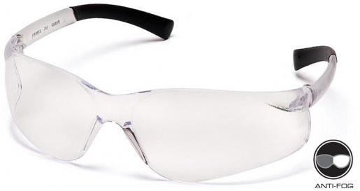 ZTEK - Clear  #S2510S Pyramex, ZTEK, Safety Glasses