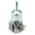 "ITEM # 10210 3/4"" KNOT WIRE END BRUSH, .0104"" STEEL FILL"