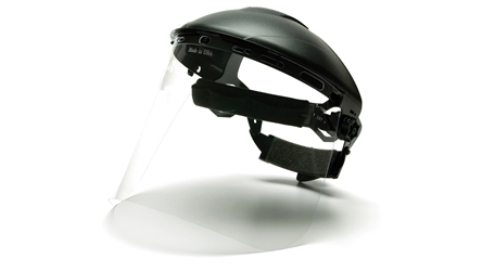 Clear Face Shield - (shown with HGBR; not included)